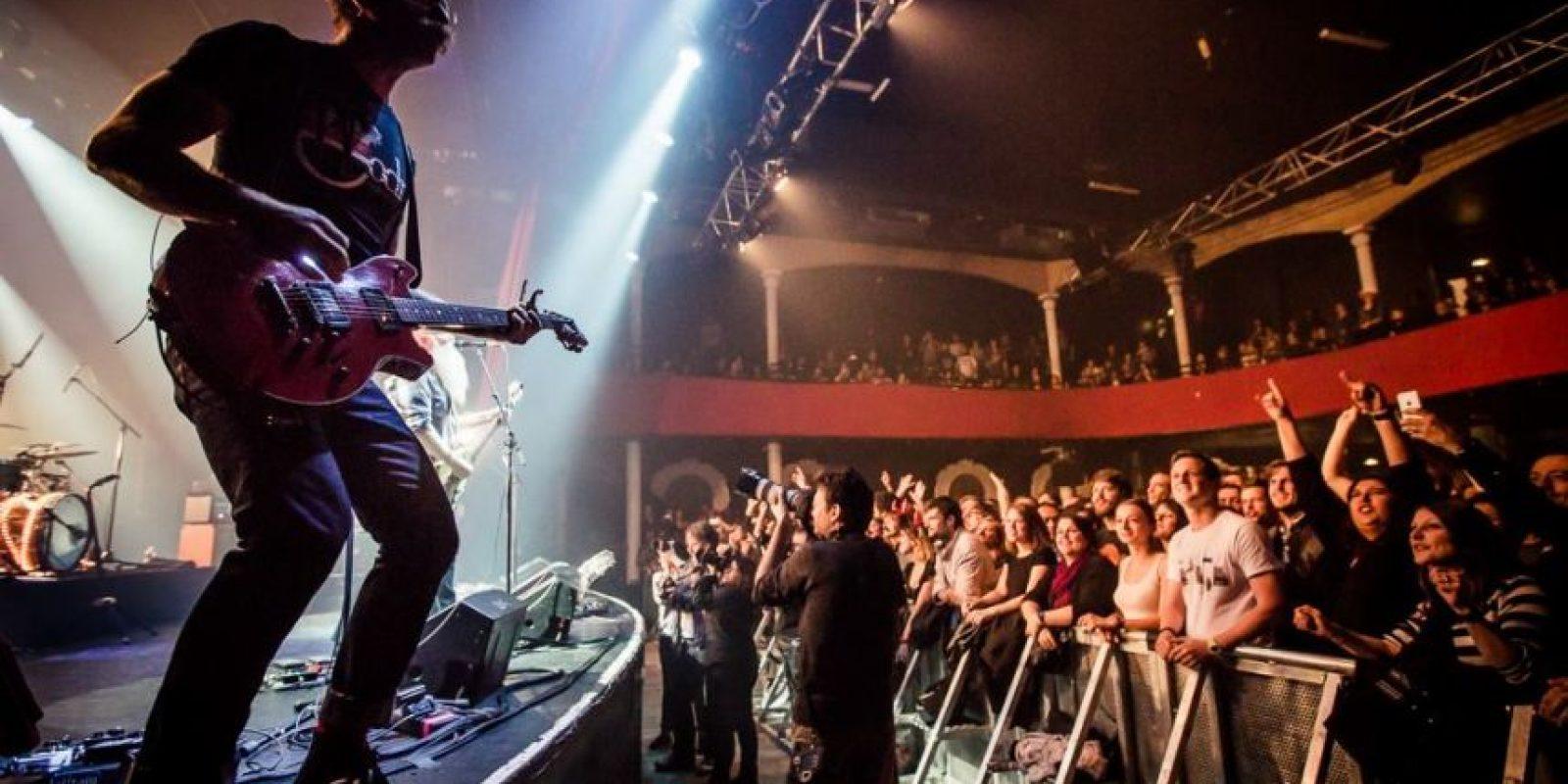 Las imágenes del concierto de Eagles of Death Metal previo al atentado Foto:Facebook.com/manuwino