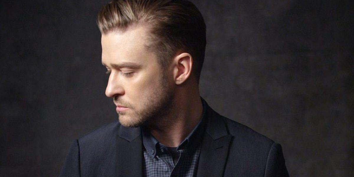 Justin Timberlake fue captado pasado de copas y esto dijo a los periodistas