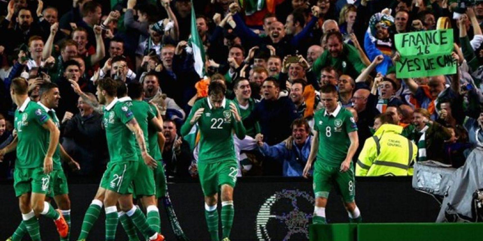 24. República de Irlanda. Llega a Francia 2016 después de vencer a Bosnia Foto:AFP