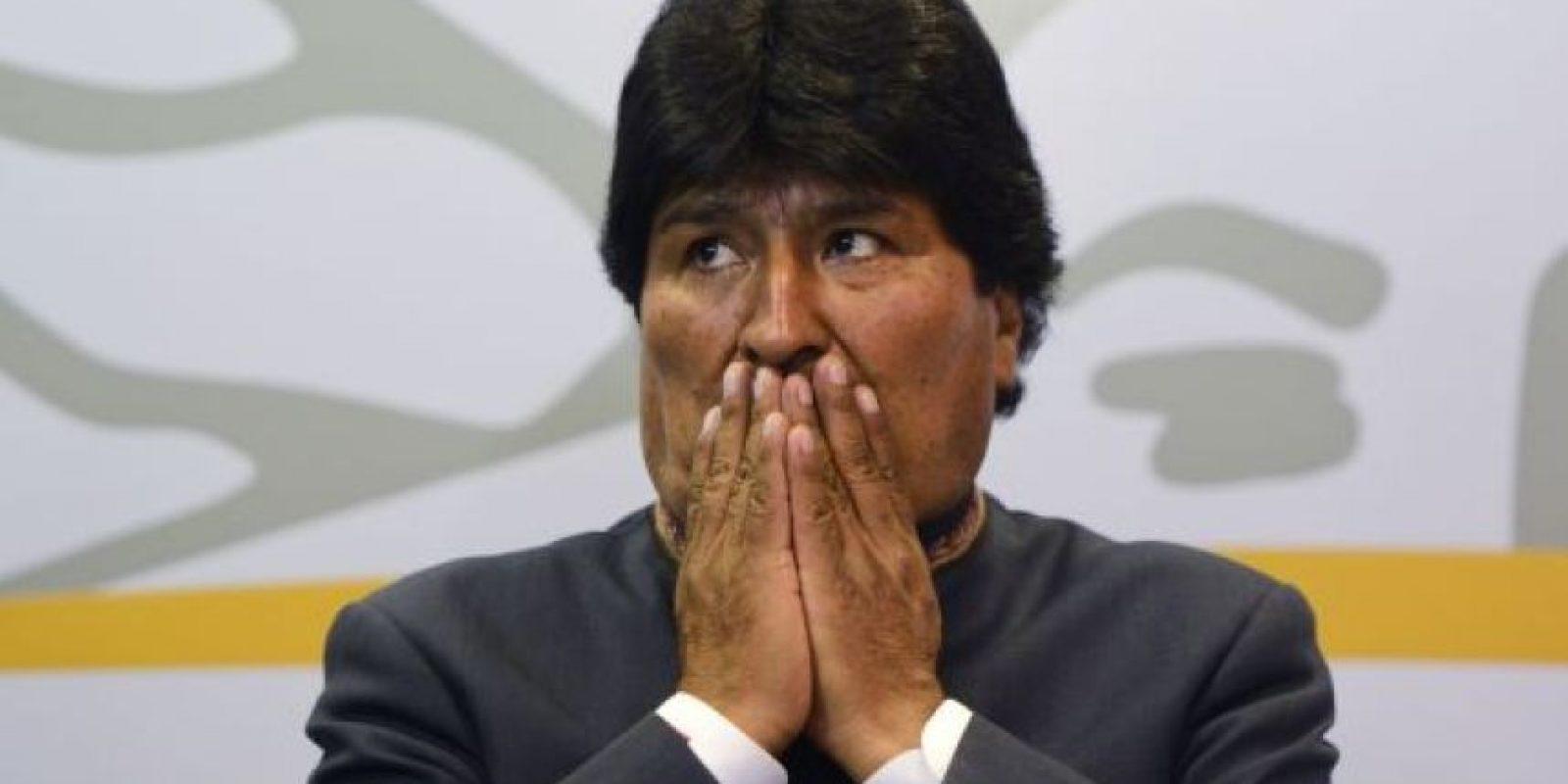 """En 2011, el periodista Alfredo Rodríguez escribió el libro """"Evadas: cien frases de Juan Evo Morales Ayma para la historia"""" en el que se recopilan sus frases menos acertadas Foto:Getty Images"""