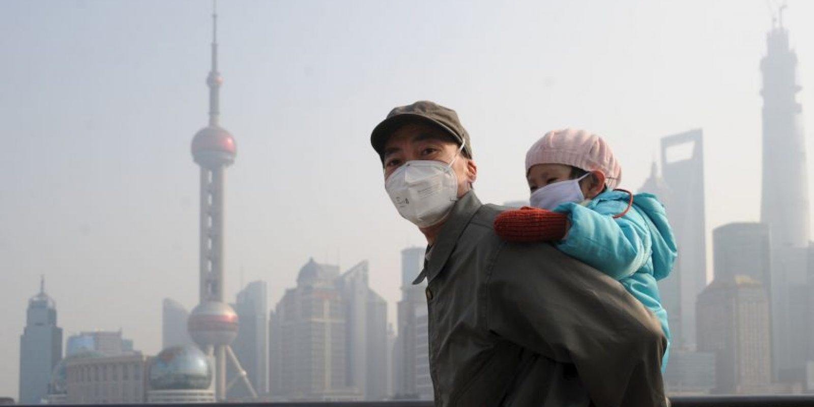 """Según el periódico español """"El País"""", el sistema central de calefacción de China funciona con carbón. Foto:Getty Images"""