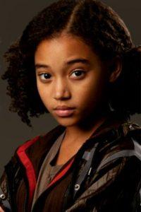 """Amandla Stenberg interpretó a la adorable """"Rue"""", la única aliada de """"Katniss"""". Foto:Lionsgate"""