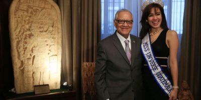 VIDEO. Presidente Maldonado recibe una