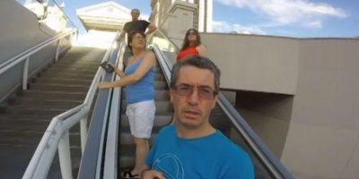 VIDEO. Se fue de vacaciones a Las Vegas y con una GoPro grabó todo ¡al revés!