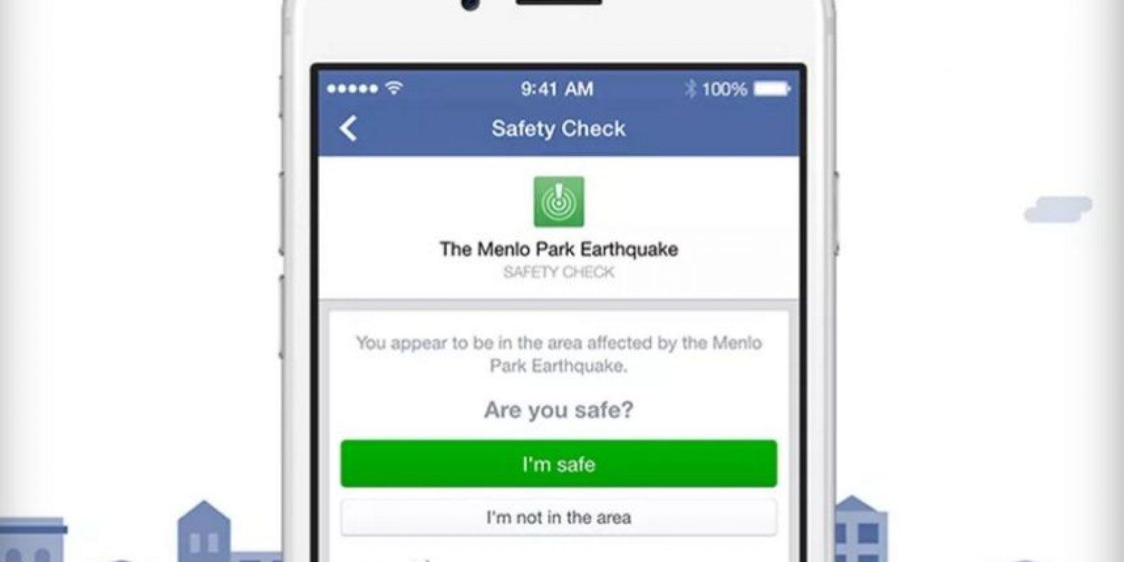 """""""Safety Check"""" fue activado en Nigeria tras bombardeos. Foto:Facebook"""