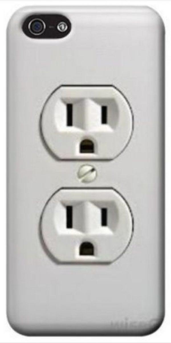 Como un conector de energía eléctrica. Foto:vía Pinterest.com