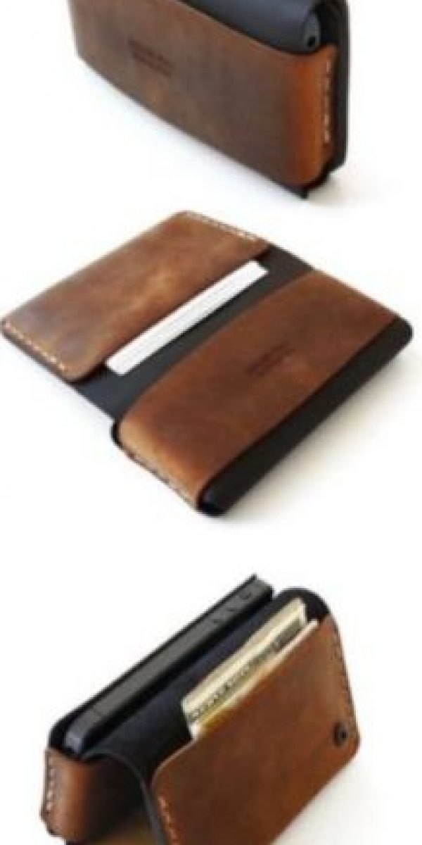 La cartera o billetera para hombre. Foto:vía Pinterest.com