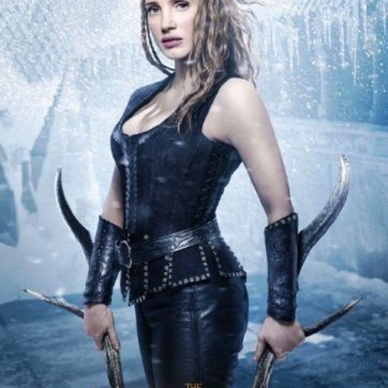 "Jessica Chastain es ""La Guerrera"" Foto:Universal Pictures"