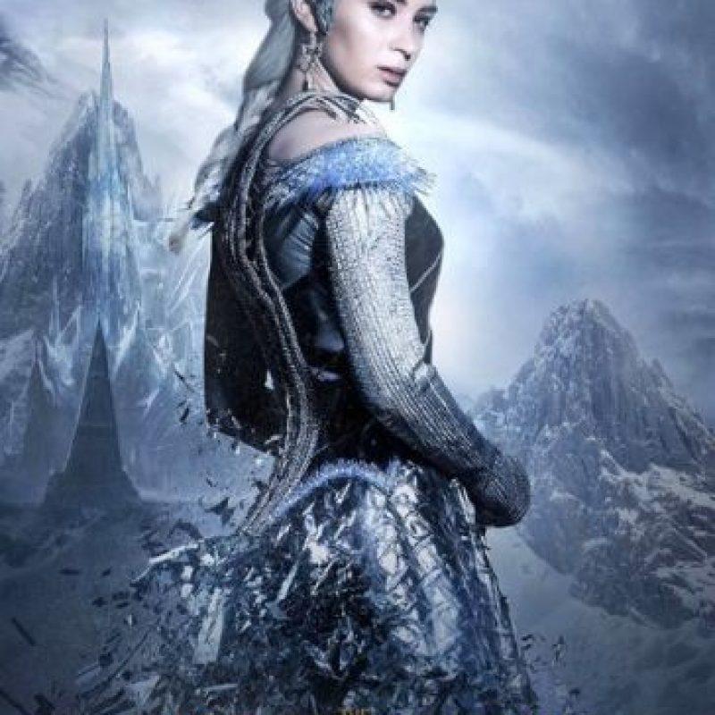 "Emily Blunt es ""La Reina del Hielo"" Foto:Universal Pictures"