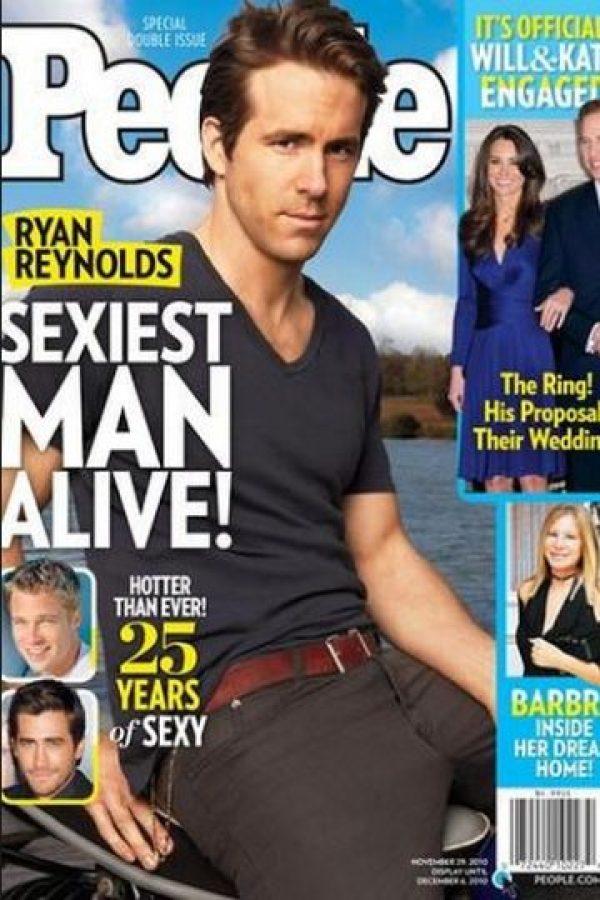 "Ryan Reynolds en 2010 Foto:Revista ""People"""