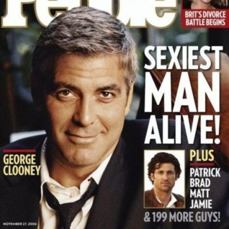"George Clooney en 2006 Foto:Revista ""People"""