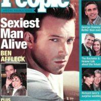 """Ben Affleck en 2002 Foto:Revista """"People"""""""