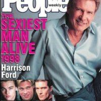 """Harrison Ford en 1998 Foto:Revista """"People"""""""