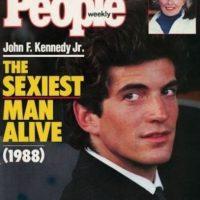 """John F. Kennedy en 1988 Foto:Revista """"People"""""""