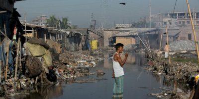 De acuerdo al portal Global Voices, el país también enfrenta un problema de contaminación del agua. Foto:Getty Images