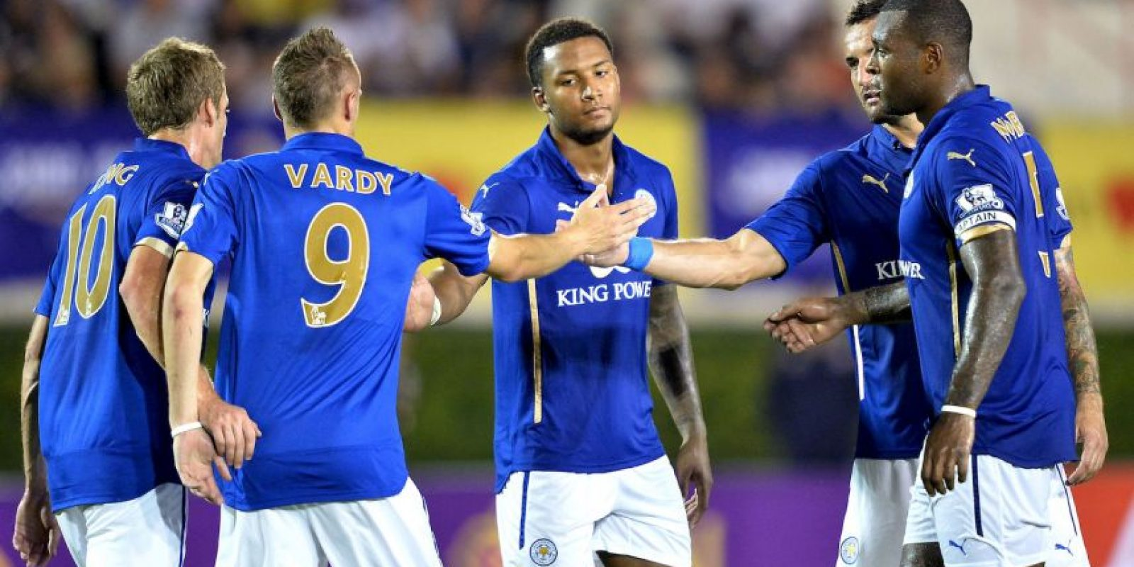 3) Futbolistas del Leicester City Foto: Getty Images