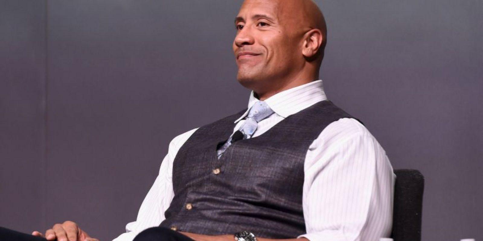 """Dwayne Douglas Johnson, mejor conocido como """"La Roca"""", es un actor y luchador profesional estadounidense. Foto:Getty Images"""