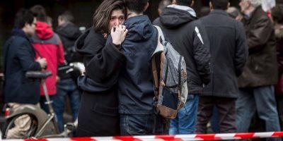 Ayer se realizaron dos redadas en París. Foto:Getty Images