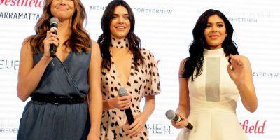 Las hermanas Jenner se encuentran en Australia. Foto:Getty Images