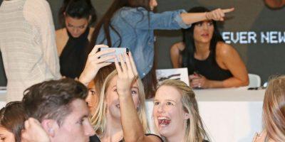 Sin embargo, parece que el viaje no va del todo bien para las modelos. Foto:Getty Images