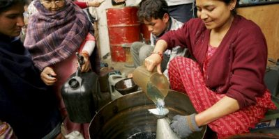 El uso de biomasa como combustible para cocinar ha empeorado la situación del aire, según la Organización Mundial de la Salud. Foto:Getty Images