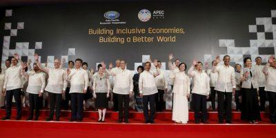 Fotos: Así lucieron los líderes mundiales en la cena de bienvenida de la APEC