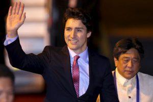 La gente puede elegir entre el ministro canadiense Justin Trudeau Foto:AFP