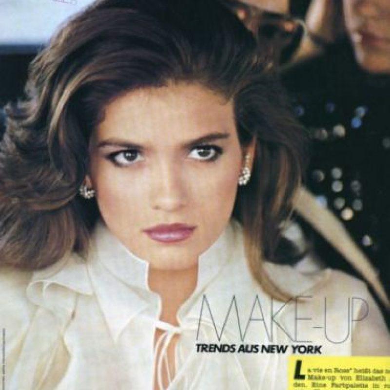 Gia Carangi era una de las grandes supermodelos de los años 70 y comienzos de los 80. Foto:vía Vogue