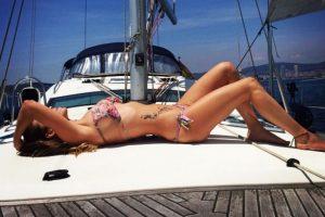 Esposa de Iván Rakitic. Foto:Vía instagram.com/raquel_mauri
