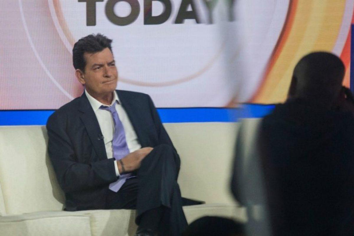En su entrevista con Matt Lauer, Sheen aseguró que el riesgo de contagiar a alguien es mínimo en su caso. Foto:Getty Images