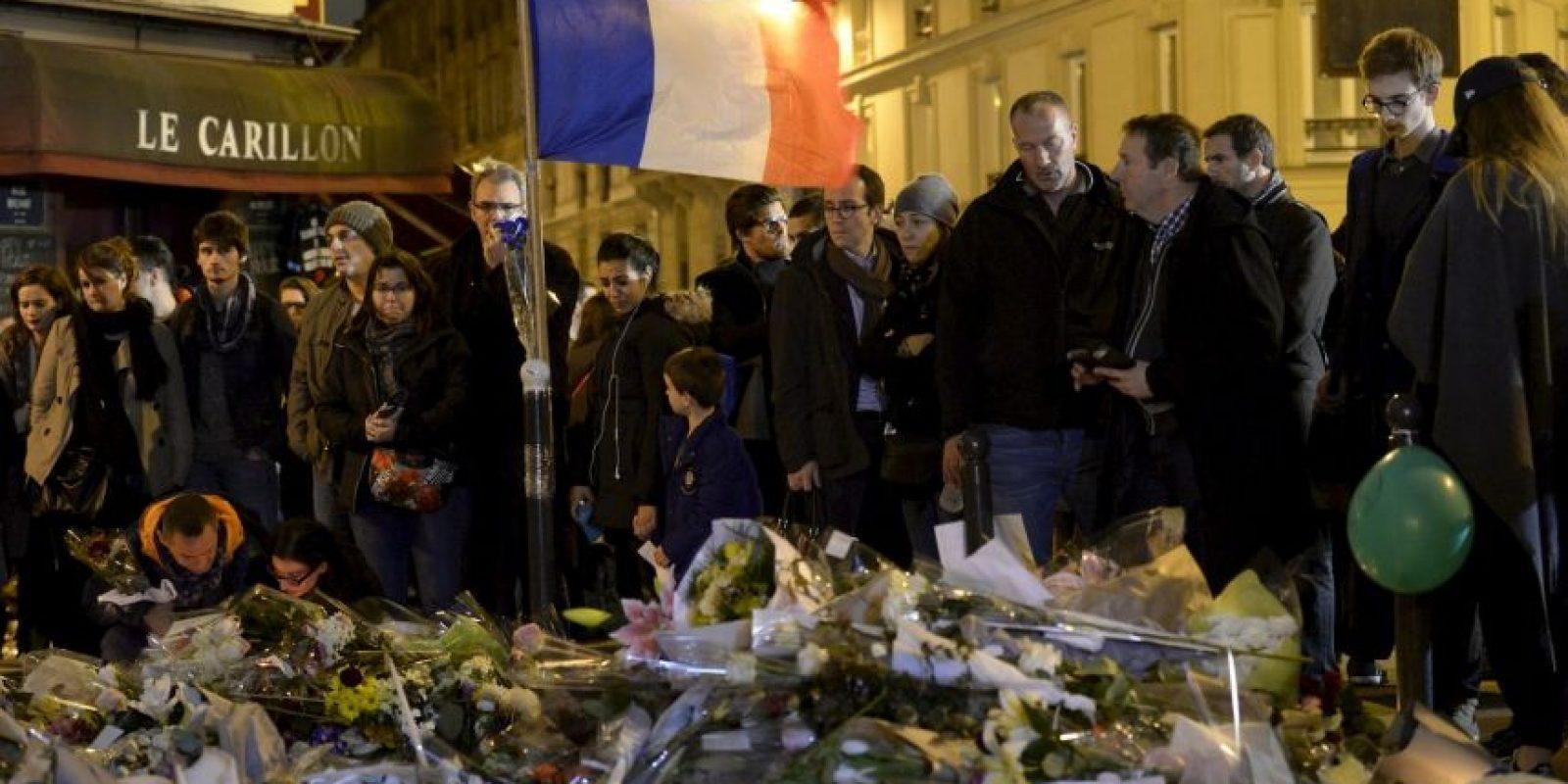 """El lugar se trataba de una pizzería de acuerdo con el periódico británico """"The Guardian"""" Foto:AFP"""