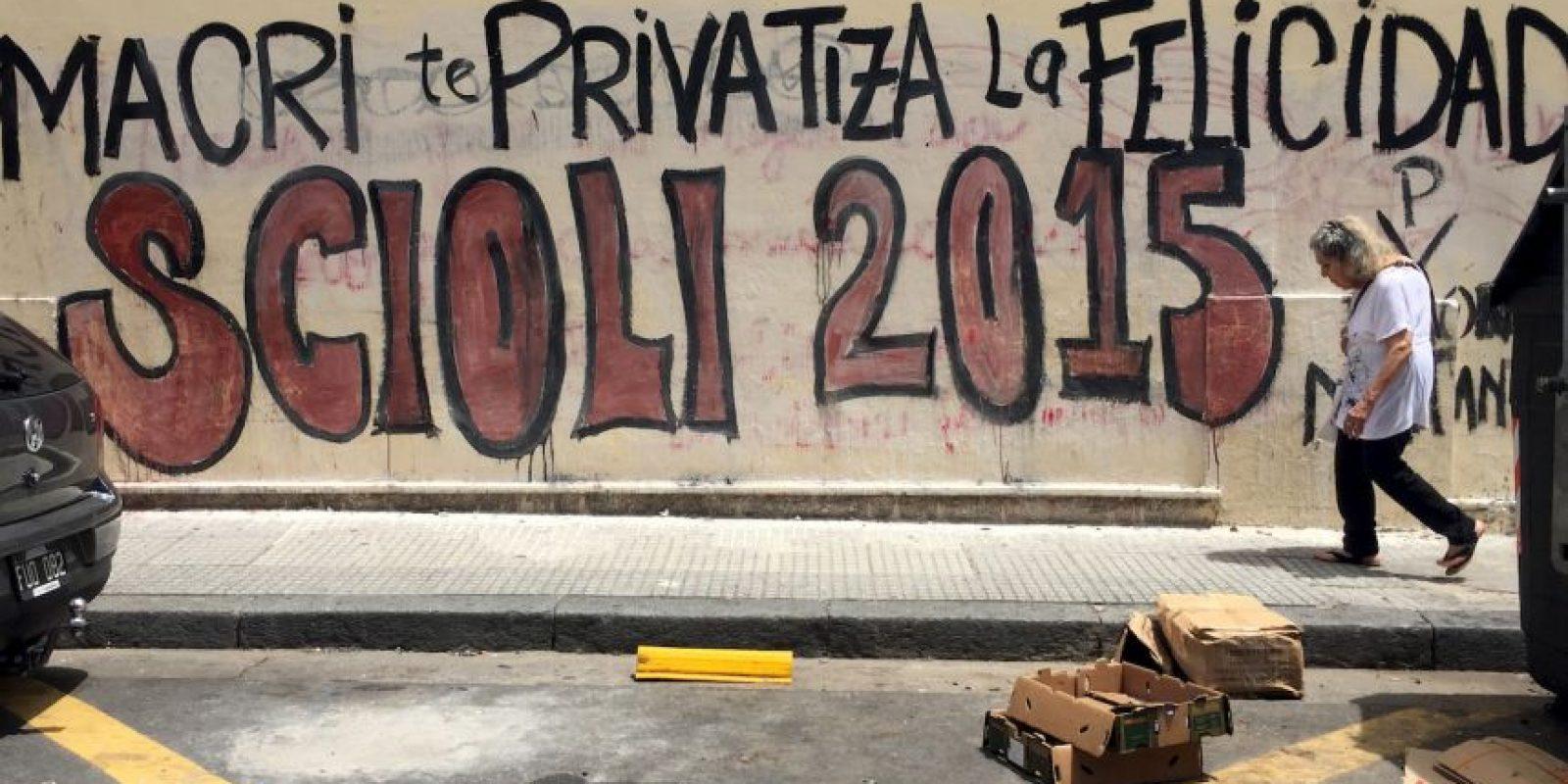 Este jueves termina la campaña presidencial de ambos Foto: AFP