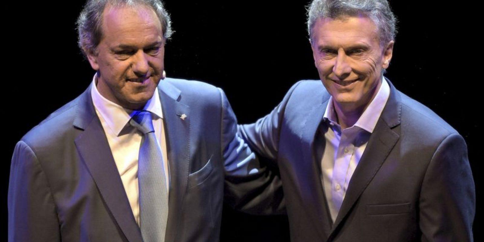 El pasado fin de semana ambos candidatos sostuvieron un histórico debate presidencial Foto:AFP