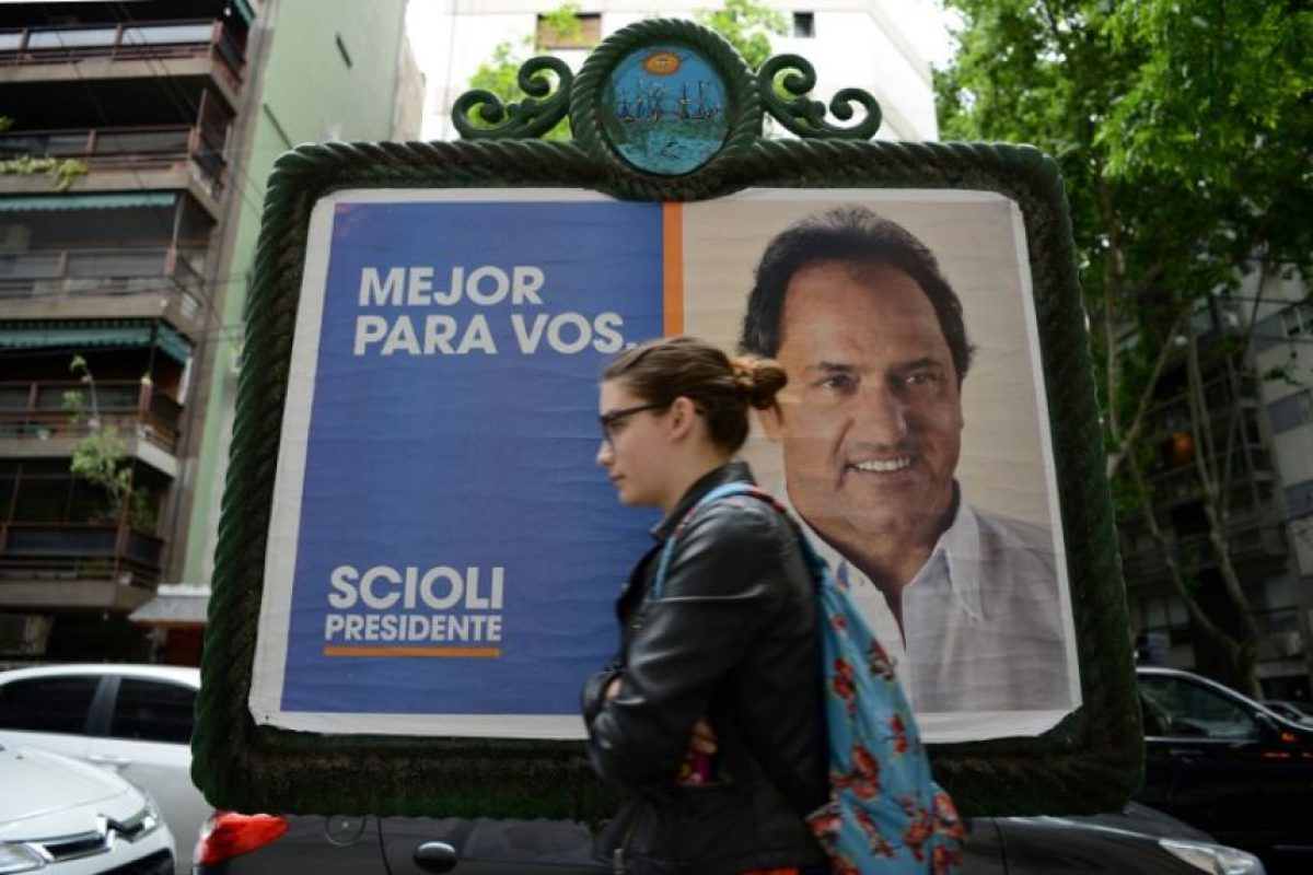 Scioli culminará en las regiones de Mar de Plata y en La Matanza, en Buenos Aires Foto:AFP