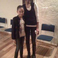 """Actuó como la versión infantil de """"Cataleya Restrepo"""" (Zoe Saldana) Foto:amandlastenberg.com"""