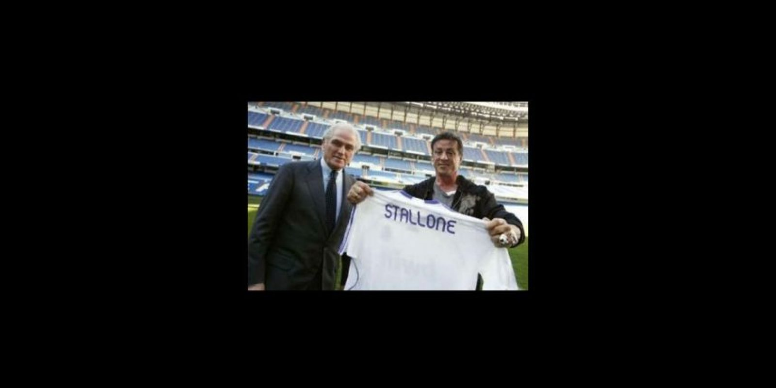 10. Sylvester Stallone Foto:realmadrid.com