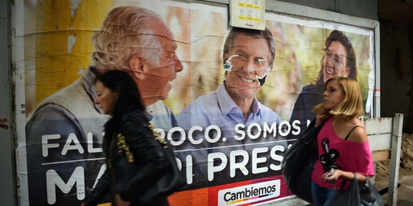 Ya que en Argentina, los partidos no están obligados a declarar cuánto dinero gastan, hasta transcurridos dos meses de la elección Foto:AFP