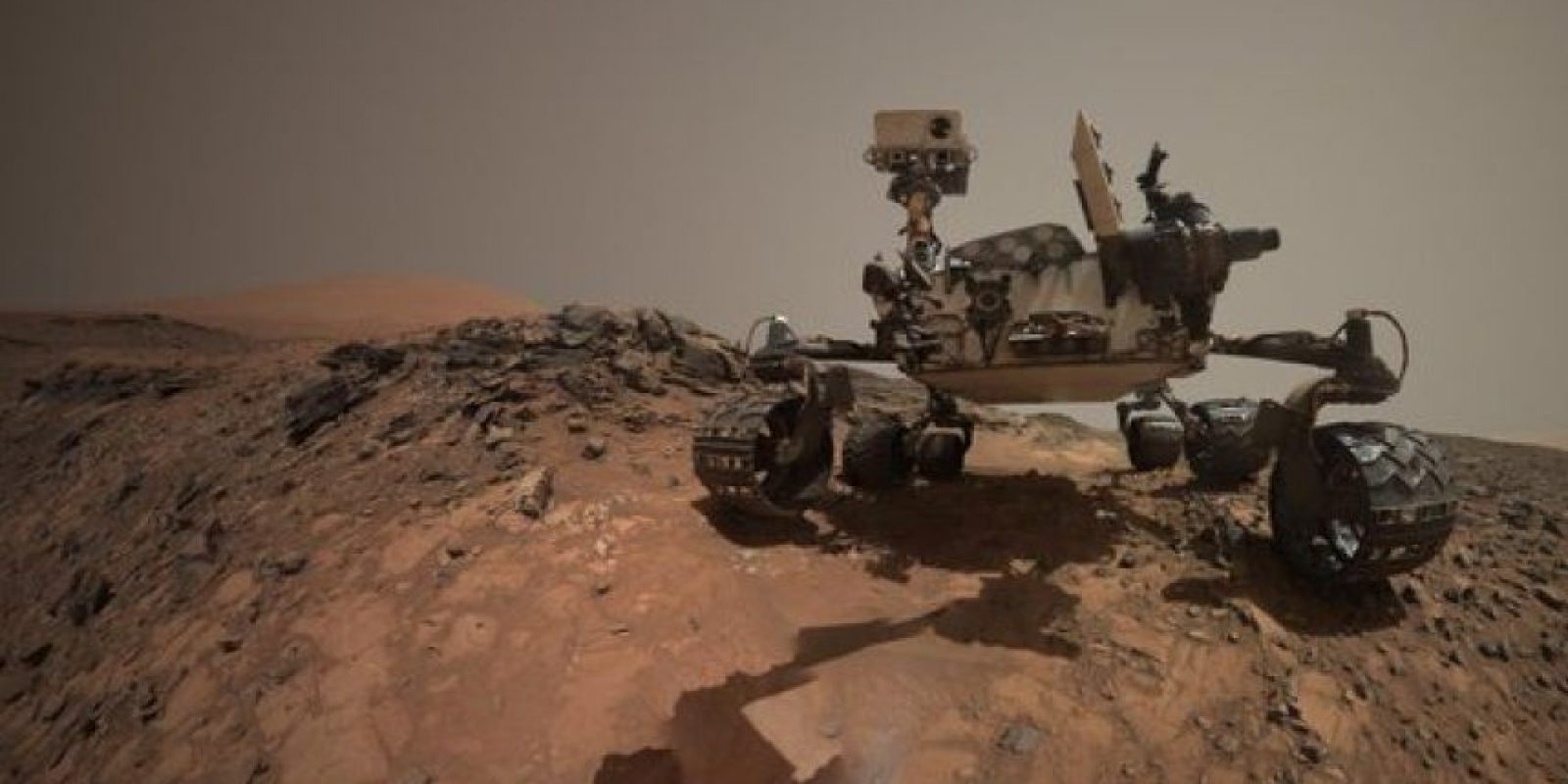 "6. Un ""explorador"" Foto:  Instagram.com/MarsCuriosity"