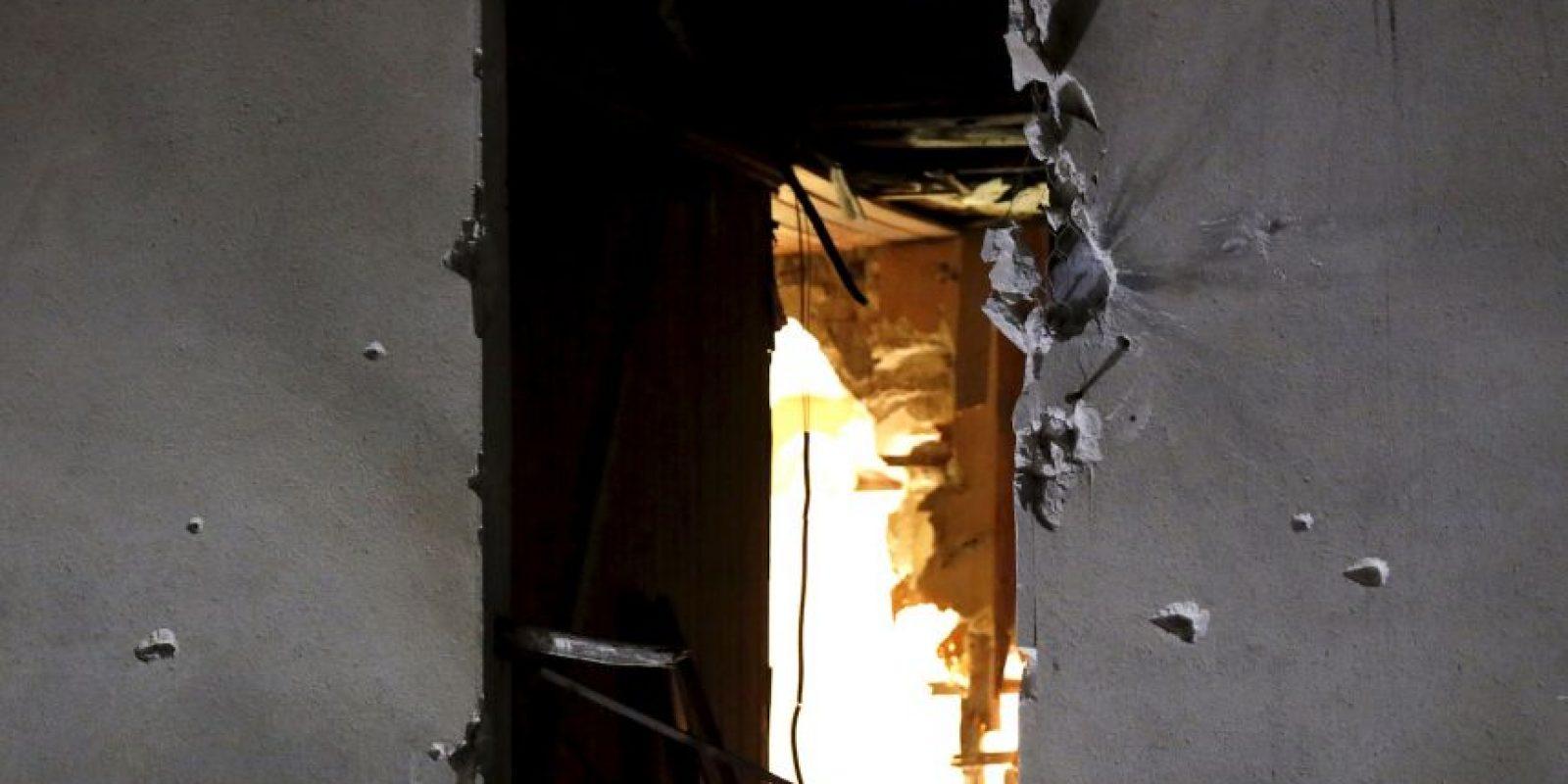 Hubo intercambio de fuego por más de cinco horas. Foto:AP