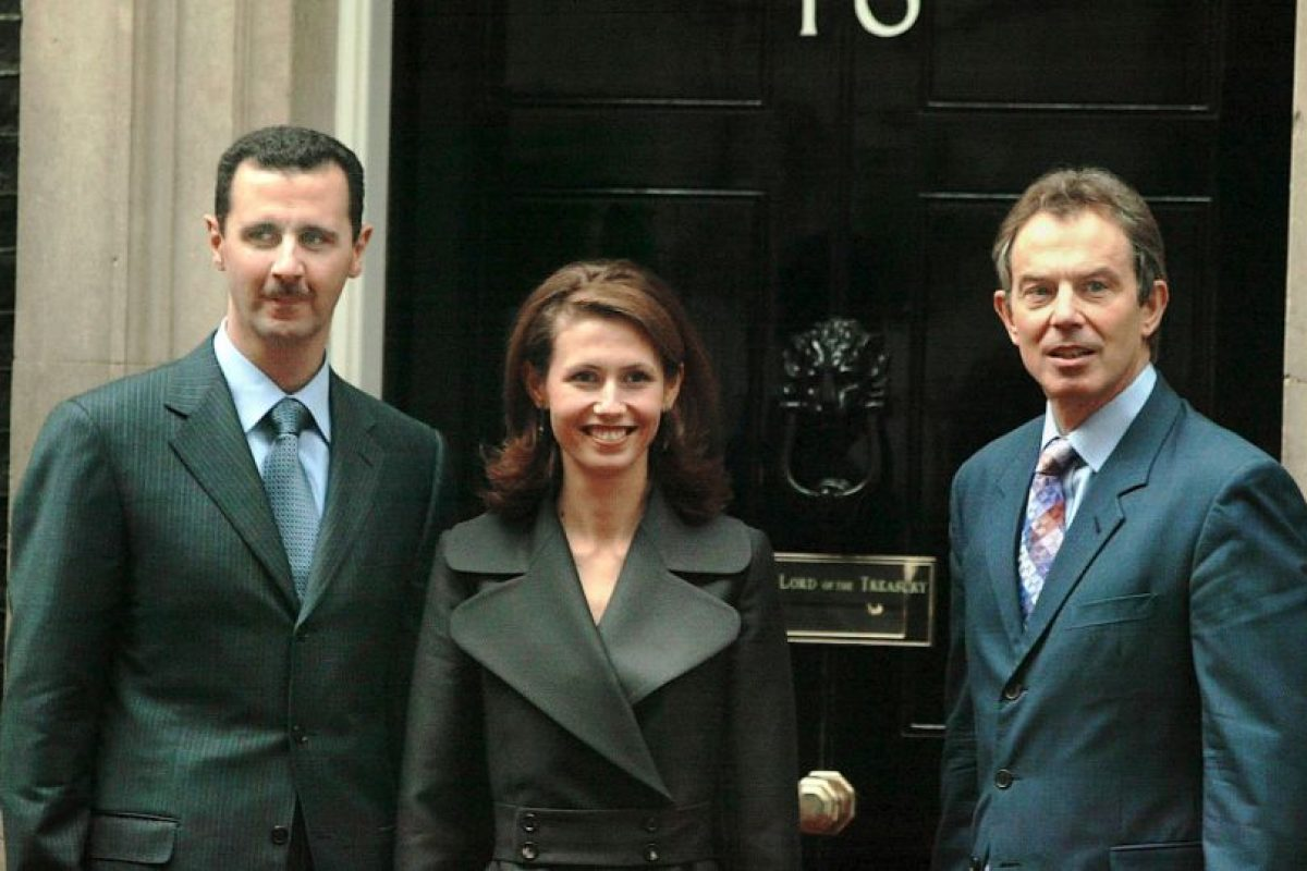 Se reunió con Tony Blair, entonces primer ministro de Inglaterra, en diciembre de 2002 Foto:Getty Images