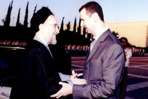 Con Mohammad Khatami, presidente de Irán en 2003 Foto:Getty Images