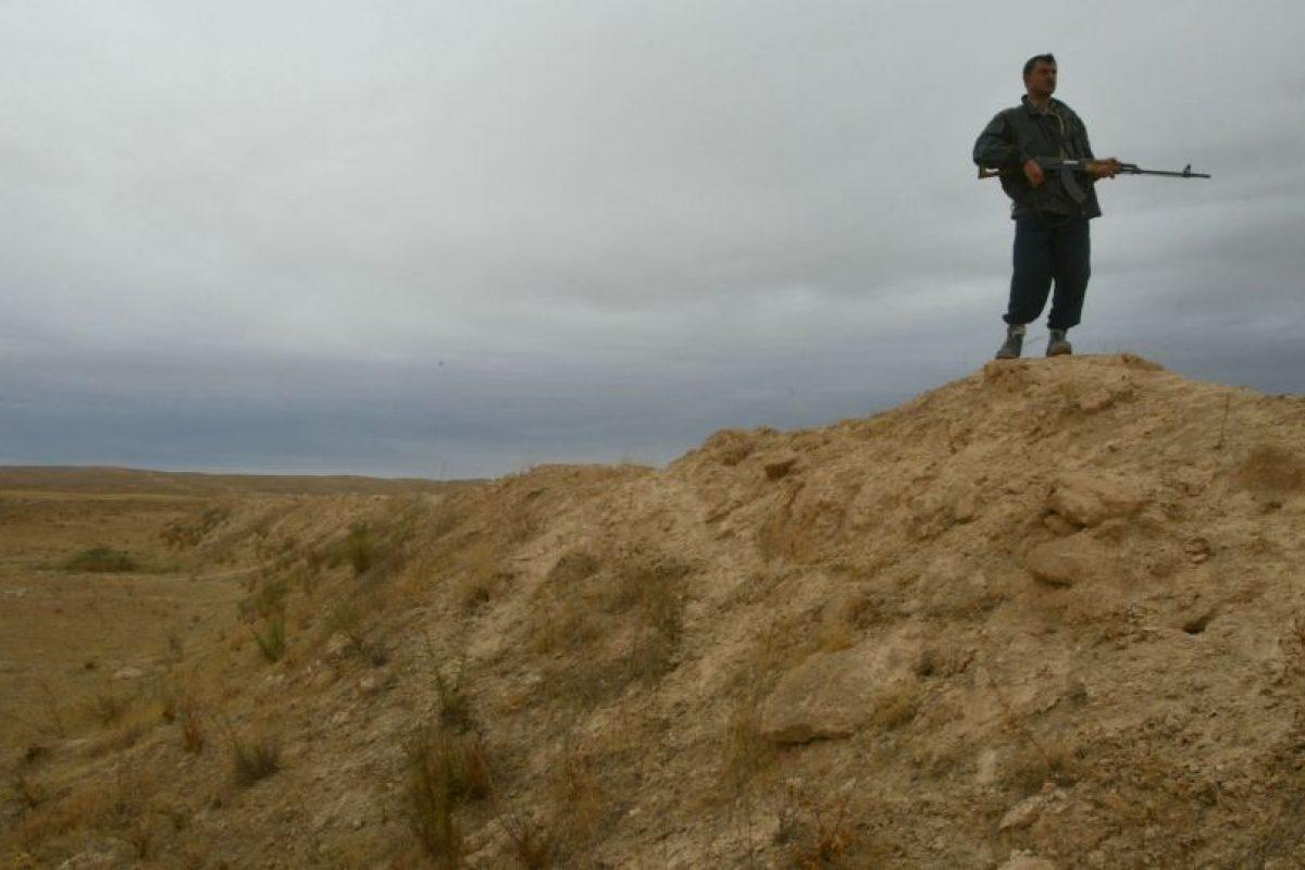 4. Así lucía la frontera con Irak Foto:Getty Images