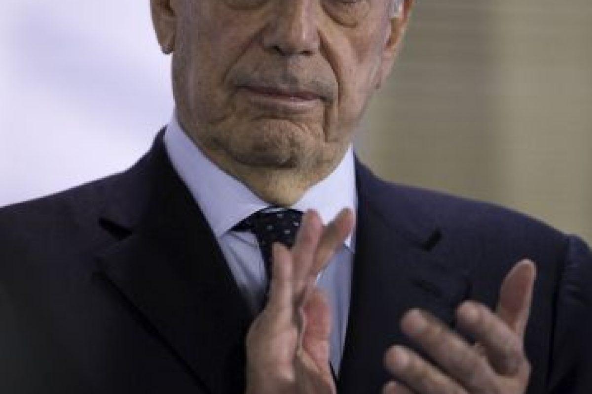 Escritor peruano y Premio Nobel de Literatura. Foto:Getty Images