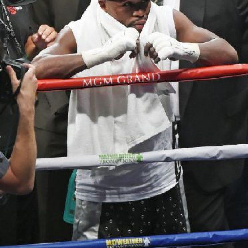 """""""Si busca mejorar su boxeo, aquí estoy para ayudarla"""", indicó el exboxeador Foto:Getty Images"""