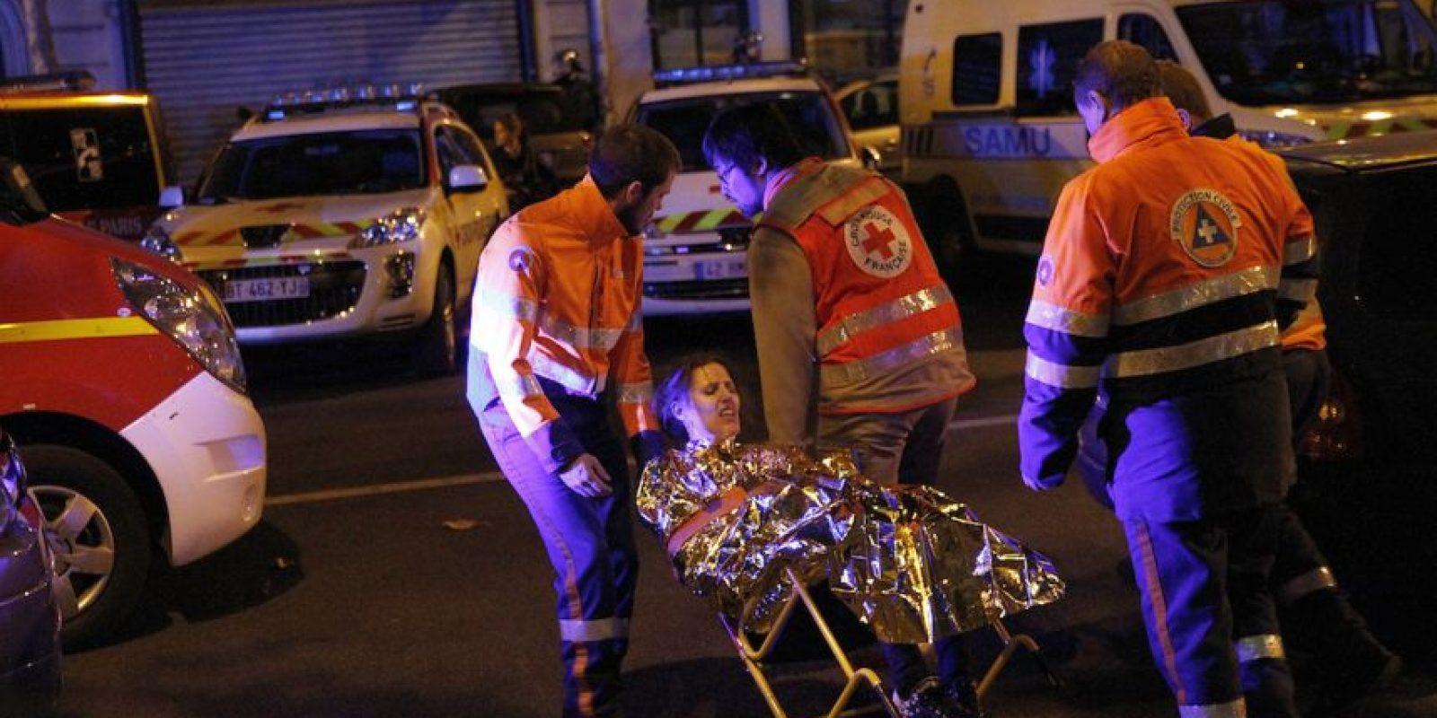 Hollande señaló que estaba en guerra contra el terrorismo. Foto:Getty Images