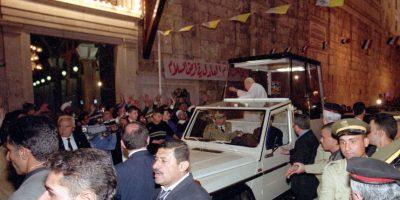 Su visita duró cuatro días y fue aplaudido tanto por musulmanes como católicos Foto:Getty Images