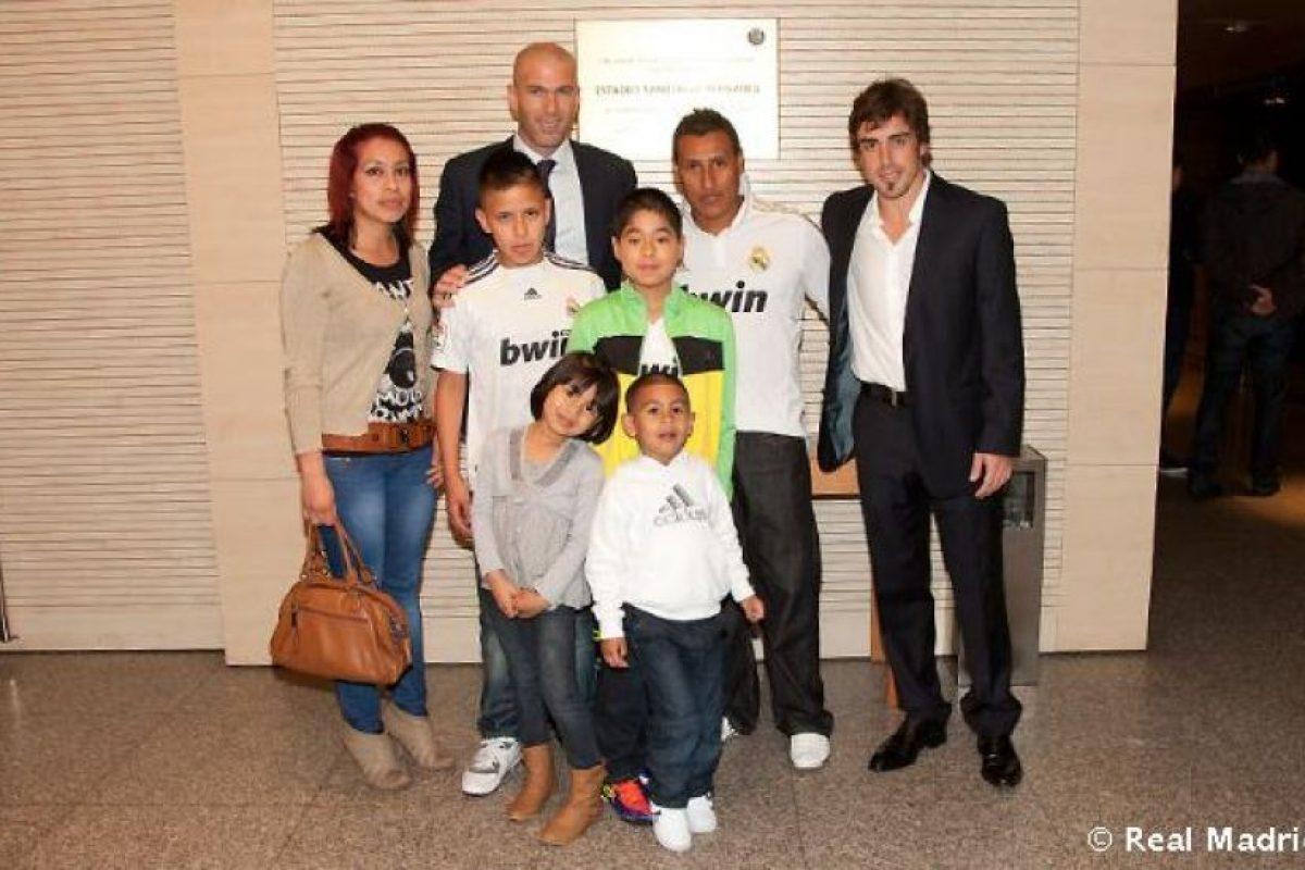 5. Fernando Alonso Foto:realmadrid.com