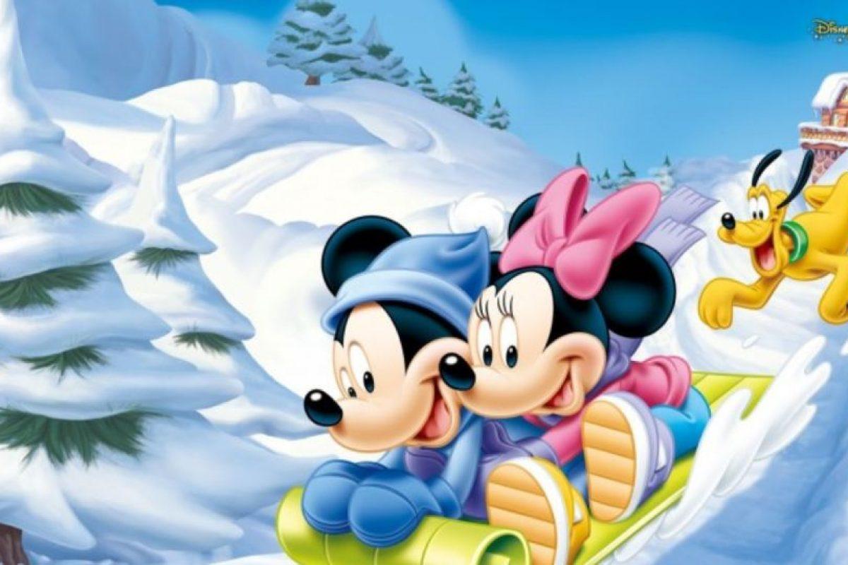 Por supuesto, Mickey también luchó contra los japoneses. Foto:vía Disney