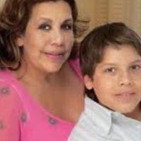 Mildred es guatemalteca y tuvo a su hijo Joseph al mismo tiempo que uno de María. Foto:vía Getty Images