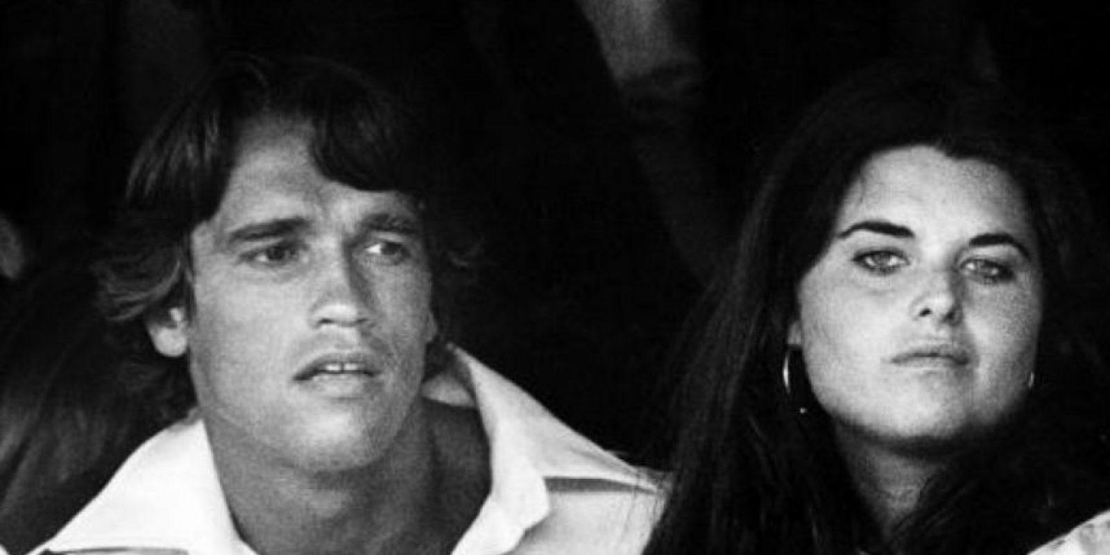 Con esas credenciales se casó con el entonces galán de Hollywood de los años 80, Arnold Schwarzenegger. Foto:vía Getty Images